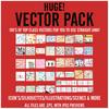 HUGE! Vector Graphics Pack.