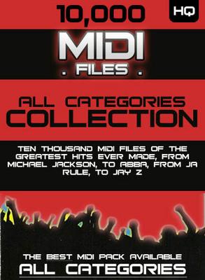 Product picture 10.000 MIDI Files!