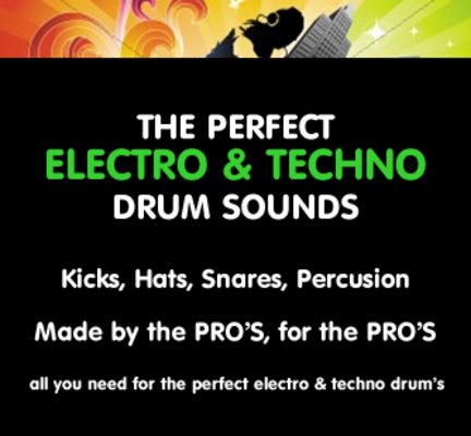 Product picture Electro House Drum Sounds!